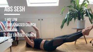 Exercice d'abdominaux
