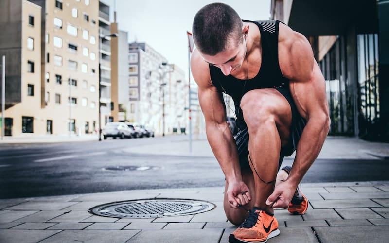 le début de l'entraînement et la motivation