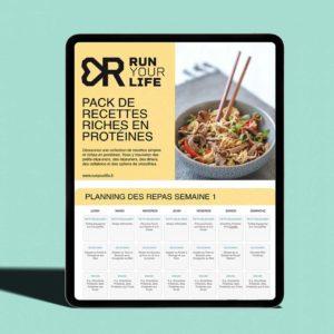 ebook de 50 recettes riches en protéines