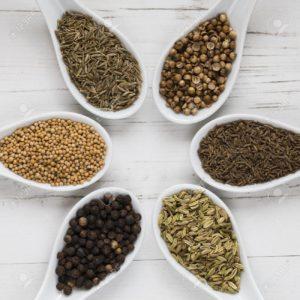 grains entiers contenant de la vitamine B1